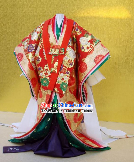 Ancient Japanese Empress Kimono Costumes for Women