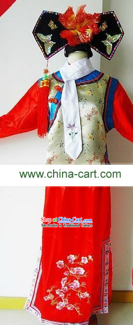 Princess Pearl Huanzhu Gege Costume and Headpiece Complete Set