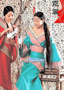 Ancient Han Dynasty Quju Clothing for Women