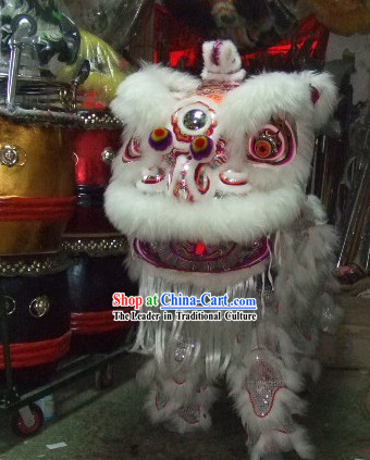 Supreme Celebration and Display HOK SAN Lion Dance Costume Complete Set