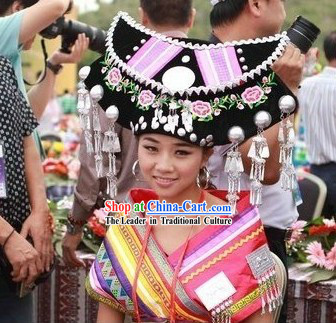 Traditional Chinese Minority Handmade Hat