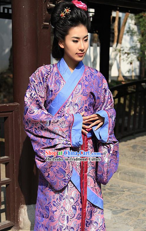 Ancient Chinese Hanfu Garment for Women