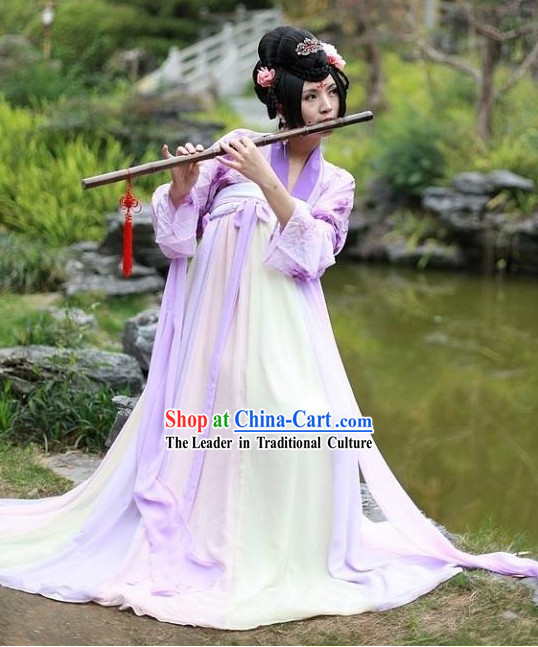 Traditional Tang Dynasty Musician Skirt Costume