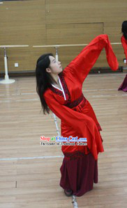 Chinese Classical Han Dancing Costume