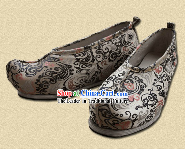 Traditional Chinese Handmade Hanfu Shoes for Men