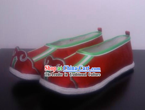 Traditional Chinese Handmade Cloud Top Hanfu Shoes