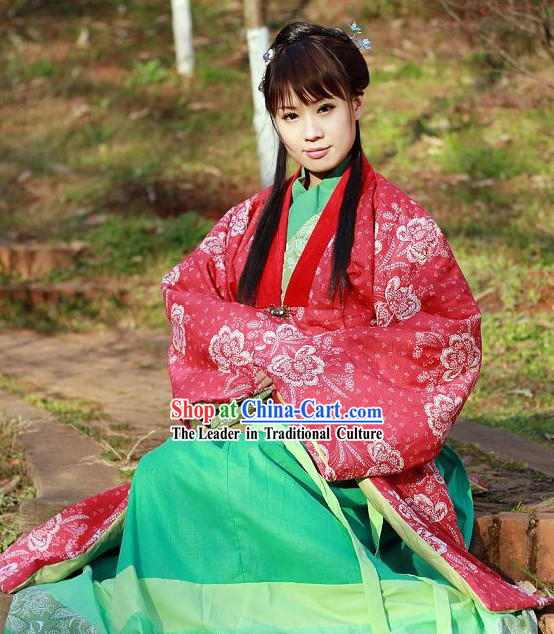 Traditional Song Dynasty Hanfu Clothing for Women