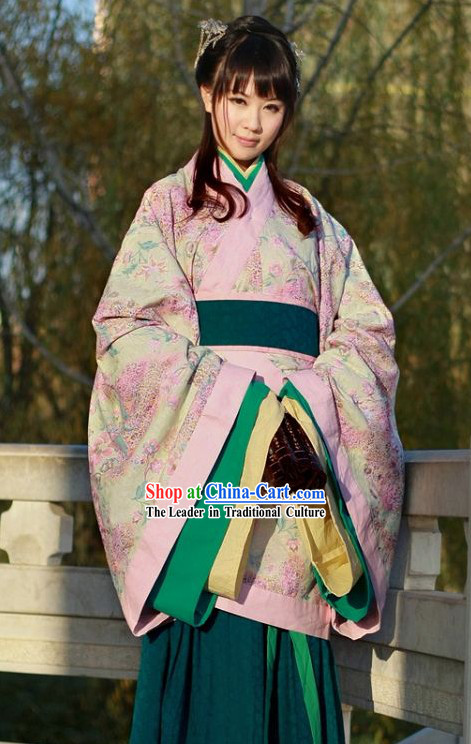 Traditional Chinese Quju Hanfu Clothing for Women