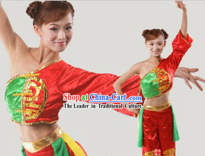 Folk Chinese Dancing Costumes for Women
