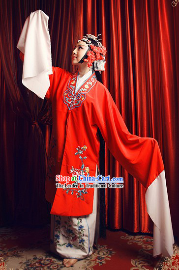Chinese Beijing Opera Embroidered Female Costume