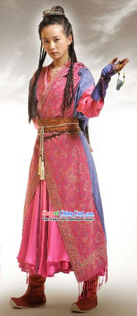 Ancient Chinese Martial Arts Beauty Costumes