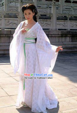 Tang Dynasty Imperial Lady Costumes