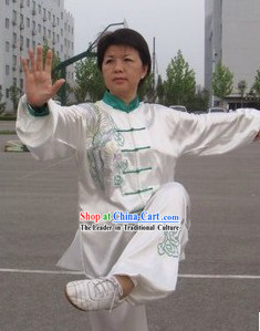 Embroidered Phoenix Martial Arts Tai Chi Costumes for Women