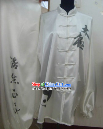 Long Sleeve Tai Chi Competition Clothes for Men