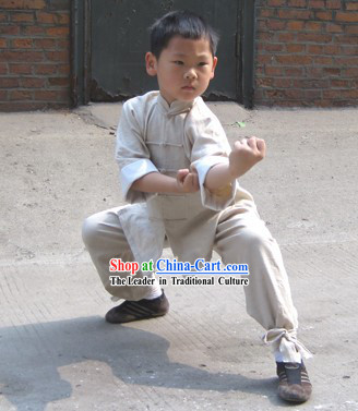 Long Sleeve Tai Chi Competition Suit for Children