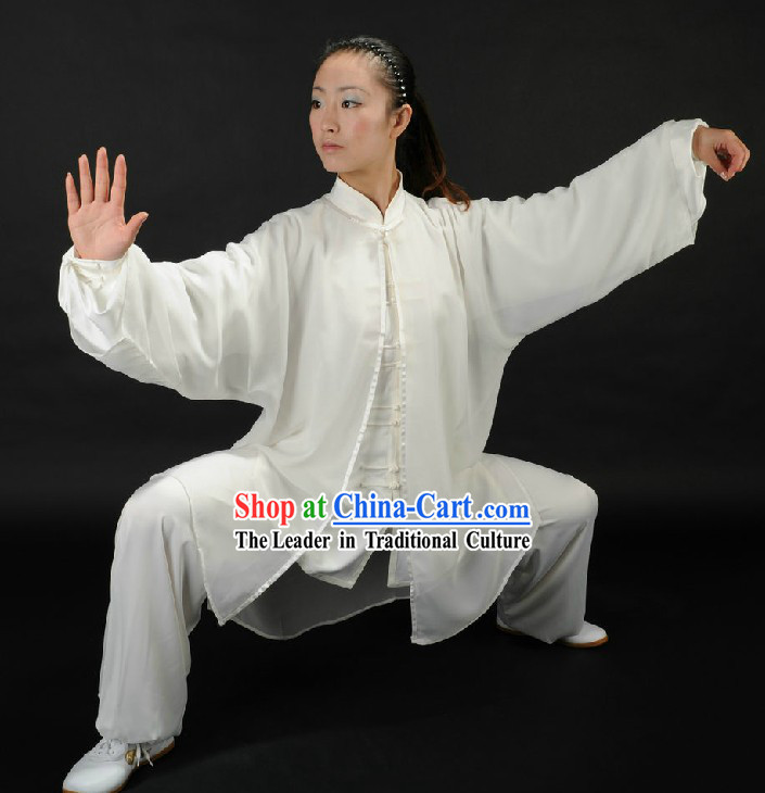 Traditional Chinese Tai Chi Competition Uniforms for Women