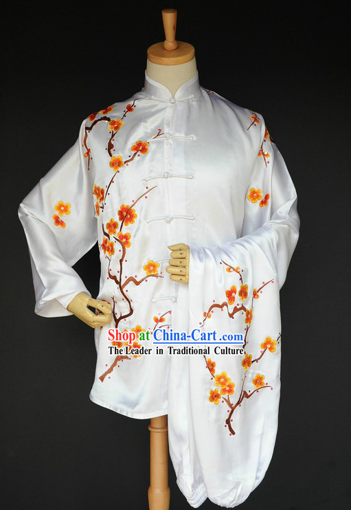 Supreme Chinese Kung Fu Silk Competiton Uniform for Men or Women