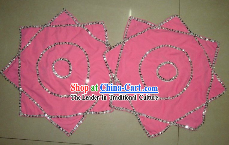 Traditional Chinese Pink Dance Handkerchief