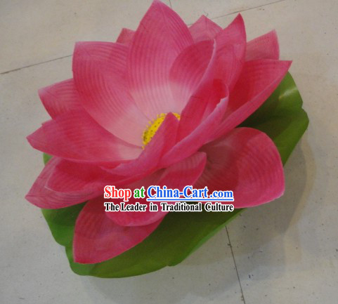Chinese Handmade Lotus Dance and Decoration Flower