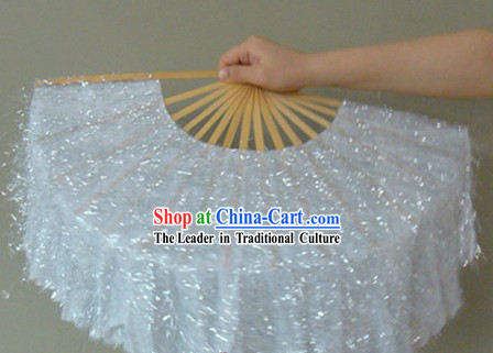 Chinese Classic Shinning Silver Dancing Fan
