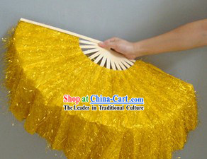 Chinese Classic Shinning Golden Dancing Fan