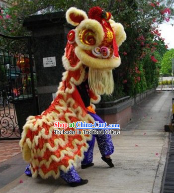 Supreme Opening and Celebration Lion Dance Costume Complete Set