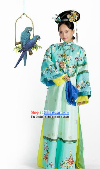Ancient Chinese Princess Costumes and Headwear