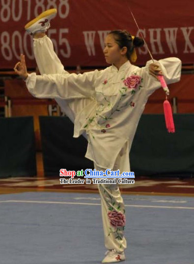 Traditional Chinese Best Kung Fu Silk Uniform for Women