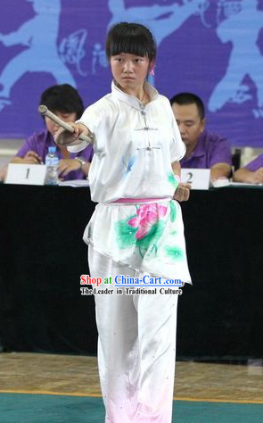 Chinese Silk Tai Chi Competition Clothing for Children