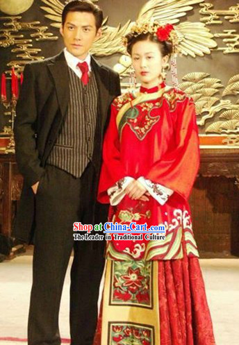 Traditional Chinese Brides Wedding Dress for Women