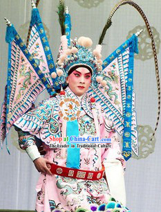 Peking Opera Two Long Feathers