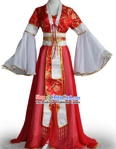 Traditional Chinese Palace Dance Costumes for Women