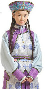 Qing Dynasty Mongolian Princess Clothes