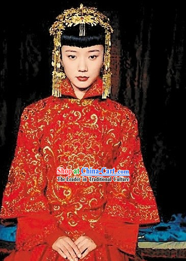 Ancient Chinese Wedding Hair Accessories