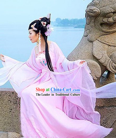 Pink Lady Guzhuang Costumes for Women