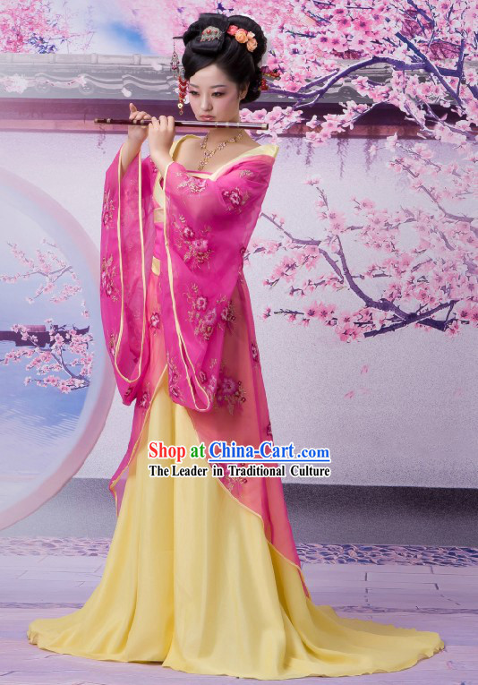Ancient Chinese Female Nobles Costumes Complete Set