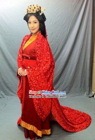Ancient Chinese Wedding Clothing for Women