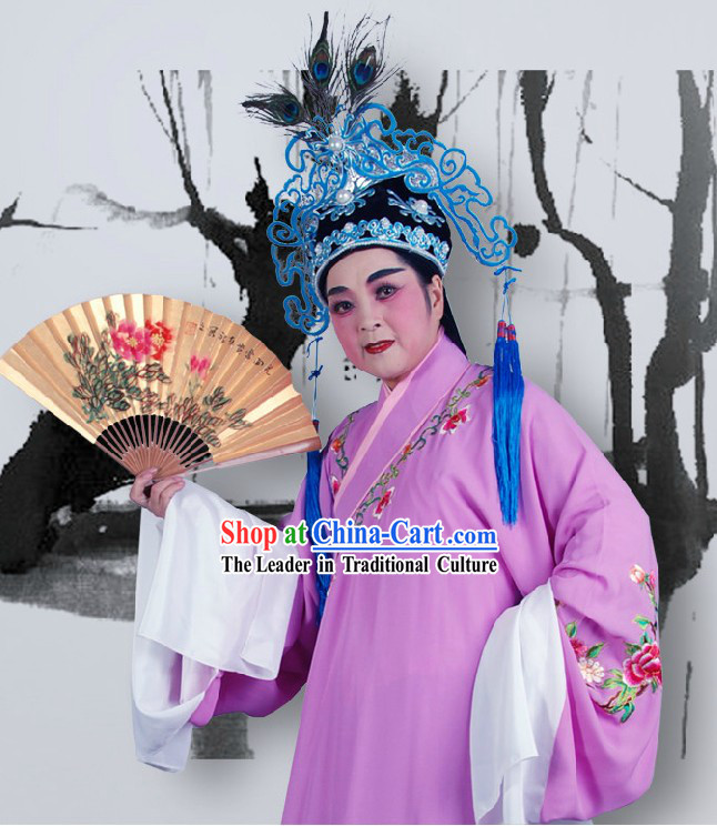 Shaosing Opera Hsiao Sheng Robe for Men