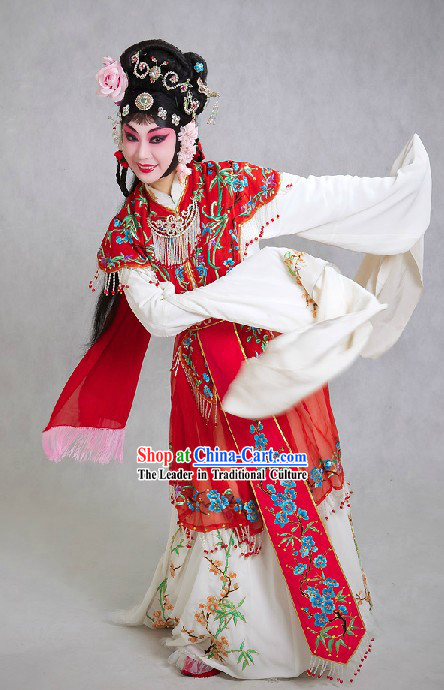Chinese Opera Hua Dan Lady Costumes for Women