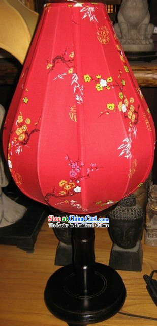 Ancient Chinese Handmade Plum Blossom Palace Desk Lantern