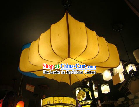 Ancient Chinese Palace Style Handmade Square Ceiling Lantern