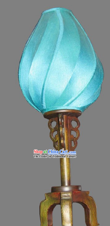 Chinese Classic Handmade Silk Desk Lamp