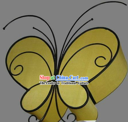 Chinese Classic Handmade Butterfly Silk Ceiling Lantern
