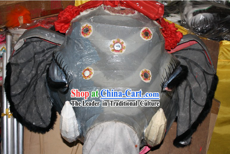 Handmade Chinese Elephant Dance Costumes Complete Set