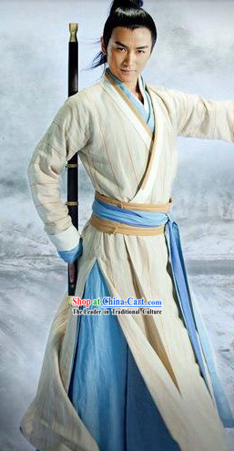 Ancient Chinese Knight Clothing for Men