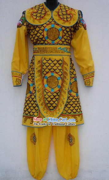 Chinese Opera Palace Guard Official Costumes for Men