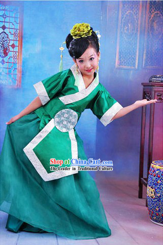 Traditional Chinese Classic Hanfu Clothing for Kids