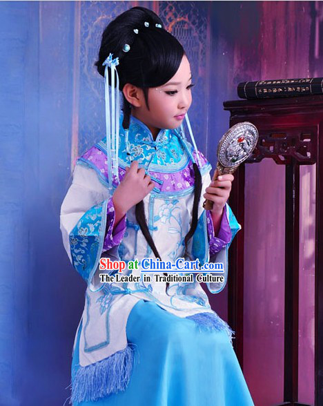 Traditional Chinese Clothing Complete Set for Kids