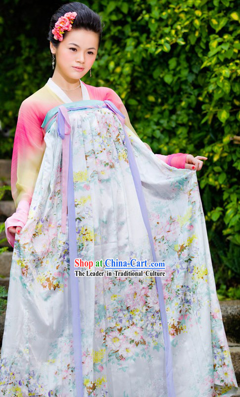 Ancient Chinese Tang Dynasty Ruqun for Women