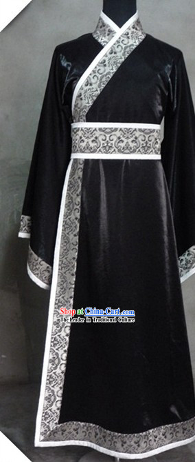 Ancient Chinese Black Clothing for Men